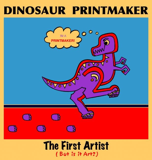 Dinosaur Printmaker