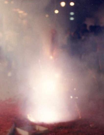 Firecrackers Exploding