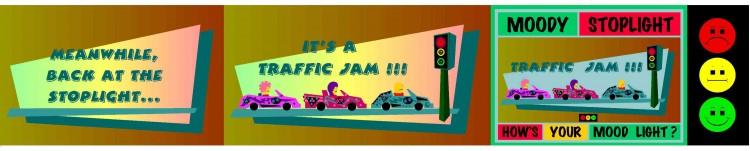 Moody Traffic Jam!