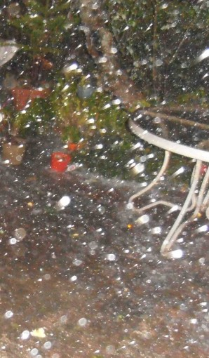 Tropical Hail Storm