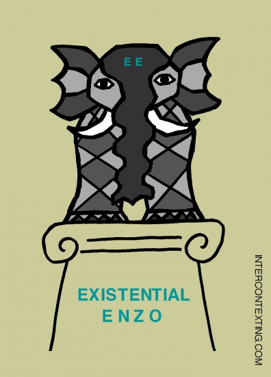 Existential Enzo the Elephant